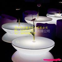供应时尚创意LED灯夜光发光家具 时尚茶几/边几角几/小雨滴茶几