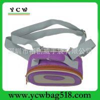 厂家小额批发便携式小巧工具包 紫色亮面优质小包包 ycw8098