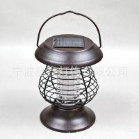 厂家批发太阳能灭蚊灯户外杀虫灯野外节能照明灯 家用灭虫灯