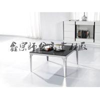 方形茶几 创意小茶桌 客厅小方茶桌 多用茶桌子 不锈钢茶桌