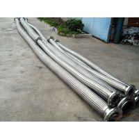 河北龙业供应DN300 PNa1.0 法兰连接大口径304不锈钢金属软管 不锈钢