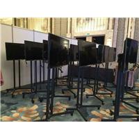 济南高清液晶电视机租赁济南供应电子签到设备租赁展台设计搭建