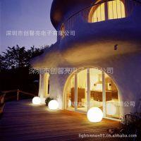 供应爆款!厂家生产LED防水园林景观灯,5W七彩变色,滚塑PE材质