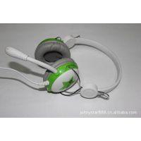 JS-363MV 电脑耳机带麦克风时尚耳机 麦克风耳机  网吧耳机