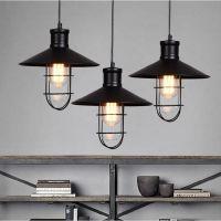 复古铁艺乡村美式吊灯爱迪生艺术餐厅吊灯酒吧创意灯具吧台卡座灯