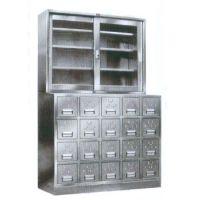 河南洛阳三威直供中西药柜不锈钢中药柜定做不锈钢药柜13938894005梁经理