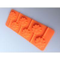 烘焙工具 太阳花硅胶棒棒糖模具 花型硅胶蛋糕模具出口品质保证