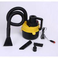 车载吸尘器 车用圆桶吸尘器 便携式 干湿两用汽车吸尘器