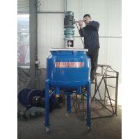 莱州昌浩低速调漆釜 平盖反应锅 不锈钢反应釜 500L电加热调漆罐