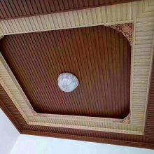 生态木外墙工程墙板价格?生态木186大圆板