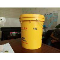 山东18升黄油塑料桶生产批发 山东18kg塑料桶价格