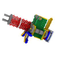 韩端教育机器人Goma_BrainA、智力开发、ABS材质益智积木玩具