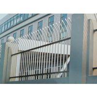 安平定制单向弯头的锌钢护栏 围墙栅栏 人行道隔离栏 绿化栏杆 城市道路护栏