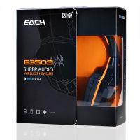 因卓B3505头戴式立体声手机电脑语音NFC无线蓝牙游戏音乐耳机