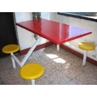 郑州四人不锈钢餐桌椅价格,郑州食堂餐桌椅厂家