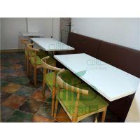 罗湖运达来家具定做 深圳西餐桌椅 仿大理石餐桌 奶茶店桌椅