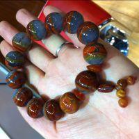 特价供应纯天然战国红玛瑙手链 战国红天然红缟玛瑙手链质优价廉