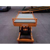 手动液压平台车 移动式装卸车 高强度钢材平台车
