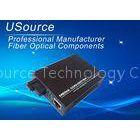 10M / 100M / 1000 M BIDI Single Mode Single Fiber Media Converter SC 1310nm /1550nm 20km