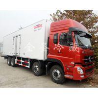 东风天龙7.5L排量350马力国五冷藏车