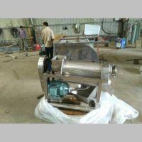 浆渣分离榨汁机不锈钢螺旋蔬菜水果压榨汁设备 鼎信