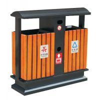果皮箱|平度分类果皮箱|平度街道钢木垃圾桶|平度环卫垃圾桶|青岛海硕