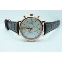 供应万国时尚皮带石英六针男士手表
