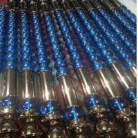 蓝色水晶不锈钢拉手 材质304不锈钢管