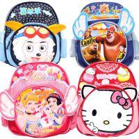 厂家直销幼儿园可爱宝宝书包卡通儿童双肩背包喜羊羊KT猫书包批发