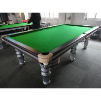 杭州高档中式黑八台球桌厂家直销批发零售