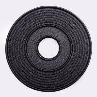 龙秀堂铁壶垫正品 铸铁壶配件 铁壶厂家 铸铁垫子黑色铁壶隔热垫