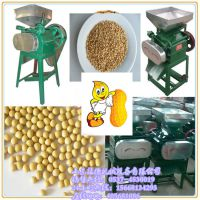 花生米轧胚专用粮食机械 振德牌多功能高粱花生破碎机