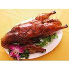 正宗老北京果木烤鸭怎么上色的