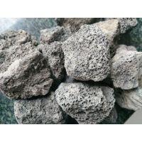 巩义德源供应4-6mm人工湿地用火山石滤料火山岩在曝气生物滤池的应用
