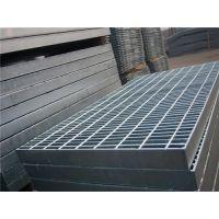现货直销北京工厂热镀锌钢格栅板 钢结构平台踏步板 排水沟盖板