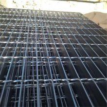 旺来钢格栅水沟盖 钢格栅生产线 耐用踏步板