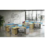 商业办公家具 众晟家具职员桌椅定制 环保员工电脑桌