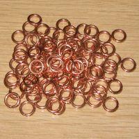 浙江欧瑞厂家直销各种规格焊环 磷铜焊环 钎焊材料 银焊环 铜焊环