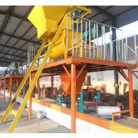 佳鑫建材机械设备厂定制TC复合防火自保温模板生产线