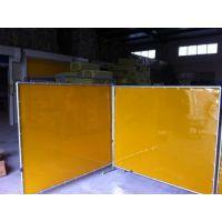 定制 1.0mm厚电焊遮光屏/电焊挡光阻燃软板/焊接防护隔断屏