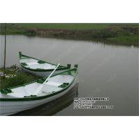 殿宝欧式手划船 观光木船 婚礼船 摄影道具船 手划钓鱼船