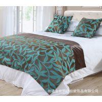 新品上市床上用品高档宾馆酒店会所大床盖床尾巾欢迎加工订做