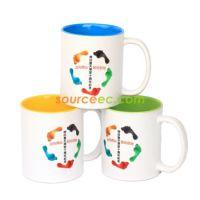内彩照片马克杯定制logo 陶瓷杯热转印个性图片 广告变色杯牛奶杯