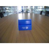 厂家供应亚克力透明便签纸盒定做 有机玻璃方形纸签盒 加工定制