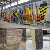 青岛国森机械制造高压高强度木塑免烧砖机托板生产线设备