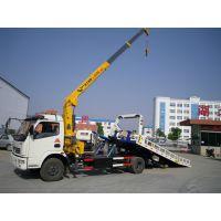 一拖二带吊清障车改装厂价格15897612260