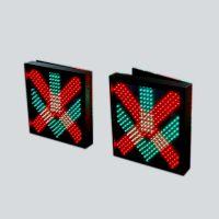 LED红叉绿箭、PLC车道指示器单面显示双面显示,厂家专业生产阳河光电