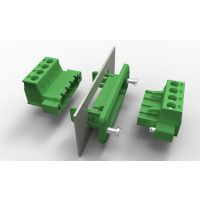PCB插拔式接线端子 穿墙式组合端子 绿色环保菲尼克斯端子排