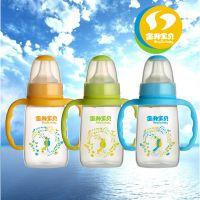 奶瓶招商批发 金升宝贝 AA2118 厂家自主品牌 270ml标口直身 PP奶瓶