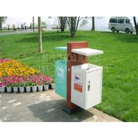 【烟台】街道环卫不锈钢垃圾桶/方形分类垃圾箱—振兴专业定制